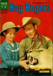 Roy Rogers, le roi des cow-boys (3e série - vedettes T.V) -6- Numéro 6