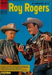 Roy Rogers, le roi des cow-boys (3e série - vedettes T.V) -8- Numéro 8