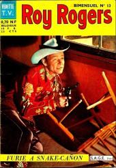 Roy Rogers, le roi des cow-boys (3e série - vedettes T.V) -13- Numéro 13