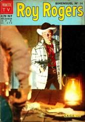 Roy Rogers, le roi des cow-boys (3e série - vedettes T.V) -14- Numéro 14
