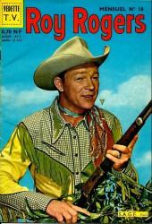 Roy Rogers, le roi des cow-boys (3e série - vedettes T.V) -16- Numéro 16
