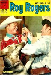 Roy Rogers, le roi des cow-boys (3e série - vedettes T.V) -19- Numéro 19