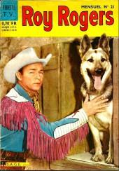 Roy Rogers, le roi des cow-boys (3e série - vedettes T.V) -21- Numéro 21