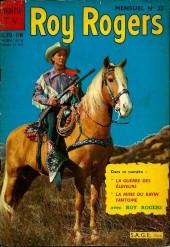 Roy Rogers, le roi des cow-boys (3e série - vedettes T.V) -22- Numéro 22