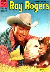 Roy Rogers, le roi des cow-boys (3e série - vedettes T.V) -23- Numéro 23