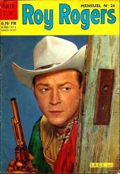 Roy Rogers, le roi des cow-boys (3e série - vedettes T.V) -24- Numéro 24