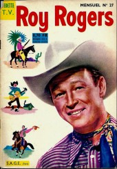 Roy Rogers, le roi des cow-boys (3e série - vedettes T.V) -27- Numéro 27