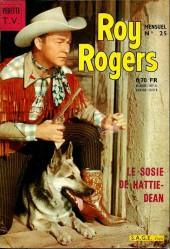 Roy Rogers, le roi des cow-boys (3e série - vedettes T.V) -25- Numéro 25