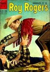 Roy Rogers, le roi des cow-boys (3e série - vedettes T.V) -26- Numéro 26