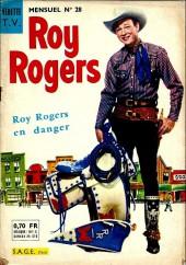 Roy Rogers, le roi des cow-boys (3e série - vedettes T.V) -28- Roy Rogers en danger