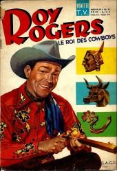 Roy Rogers, le roi des cow-boys (3e série - vedettes T.V) -32- Numéro 32