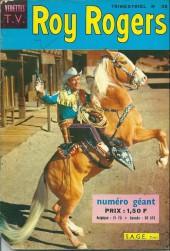 Roy Rogers, le roi des cow-boys (3e série - vedettes T.V) -38- Numéro 38