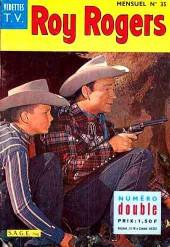 Roy Rogers, le roi des cow-boys (3e série - vedettes T.V) -35- Numéro 35