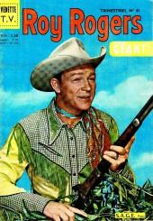Roy Rogers, le roi des cow-boys (3e série - vedettes T.V) -41- Numéro 41