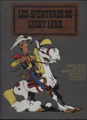 Lucky Luke (Intégrale luxe) -8H- Tomes 37 à 41