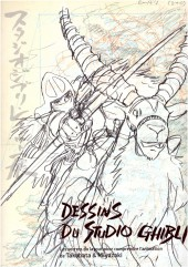 (Catalogues) Expositions - Dessins du Studio Ghibli