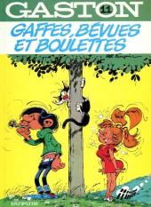 Gaston -11c1982'- Gaffes,bévues et boulettes