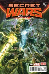 Secret Wars (2015) -6- We Raise Them Up... Just So We Can Pull Them Down.