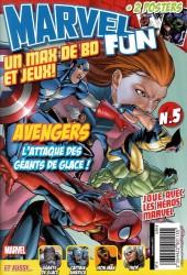 Marvel Fun -5- L'attaque des géants de glace !