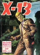 X-13 agent secret -Rec33- Collection reliée N°33 (du n°257 au n°264)