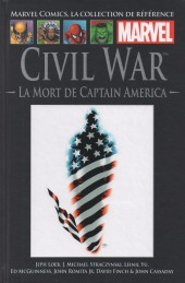 Marvel Comics - La collection (Hachette) -4653- Civil War - La Mort de Captain America