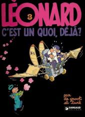 Léonard -3a1981- Léonard, c'est un quoi, déjà ?