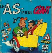 Les as (poche) -REC01- Album N°1 (du n°1 au n°3)