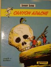 Lucky Luke -37a77- Canyon Apache