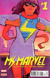 Ms. Marvel (2016) -1- Super Famous Part 1 of 3