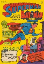 Superman l'homme d'acier puis Superman et Batman (1re Série Interpresse) -12- Le Superman de 2967