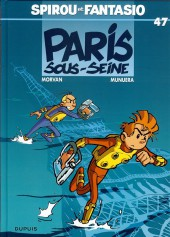 Spirou et Fantasio -47a13- Paris sous-Seine