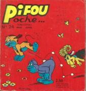 Pifou (Poche) -24- Chasse aux papillons