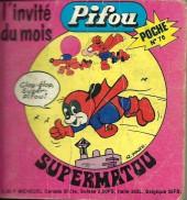 Pifou (Poche) -76- Supermatou