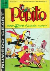 Pepito (3e Série - SAGE) (Numéro Géant) -11- Moro Zimpo, le justicier masqué