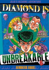 Jojo's Bizarre Adventure - Diamond is unbreakable -6- Visite chez un mangaka