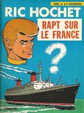 Ric Hochet -6a80- Rapt sur le France