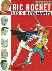 Ric Hochet -10a79- Les 5 revenants