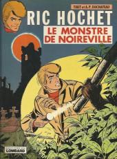Ric Hochet -15a80- Le monstre de Noireville