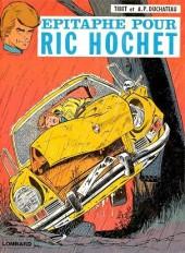Ric Hochet -17b1979- Épitaphe pour Ric Hochet