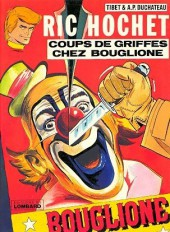 Ric Hochet -25a80- Coups de griffes chez Bouglione