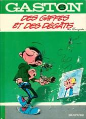Gaston -6a73- Des gaffes et des dégâts