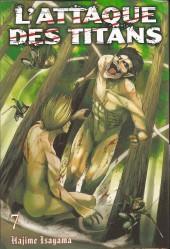 L'attaque des Titans -INT04- Tomes 7 et 8