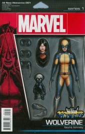 All-New Wolverine (2016) -1B- Snikt! - Action Figure Cover