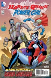 Harley Quinn and Power Girl (2015) -3- Insurance Waivers