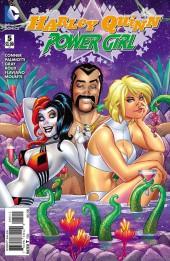 Harley Quinn and Power Girl (2015) -5- Bighead Space-God