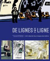 De lignes en ligne - L'Art discret du croquis de métro