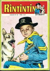 Rin Tin Tin & Rusty (2e série) -Rec61- Album N°61 (du n°104 au n°106)