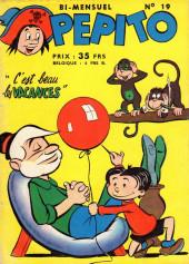 Pepito (1re Série - SAGE) -19- C'est beau les vacances
