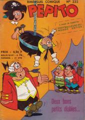 Pepito (1re Série - SAGE) -232- Deux bons petits diables...