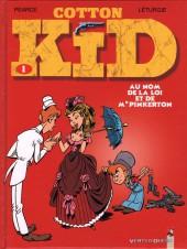 Cotton Kid -1- Au nom de la loi et de Mr Pinkerton